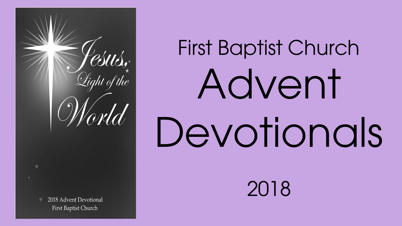 Advent Daily Devotions 2018
